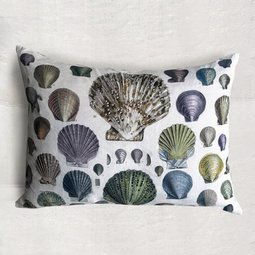 Captain Thomas Brown's Oyster Shells Pillow