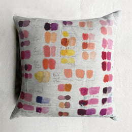 Mixed Tones Fuchsia Pillow