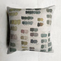 Neutral Mixed Tones Pistachio Pillow