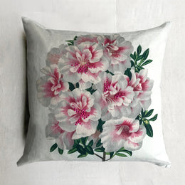 Variegated Azalea Pillow