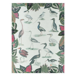 Birds of a Feather Parchment Throw