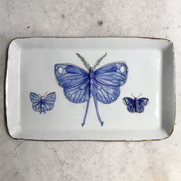 Three Butterflies Platter