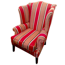 Thorntail Wingback Chair in Charvet Fabric