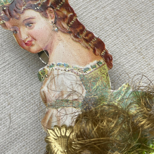 Victorian Bell Dress Ornament