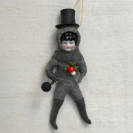 Nostalgic Cotton Chimney Sweep Ornament