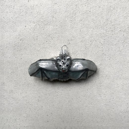 Small Gray Bat Ornament