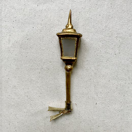 Gold Lantern Clip-On Ornament