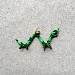 Green Caterpillar Ornament