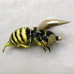 Yellow & Black Bee Ornament