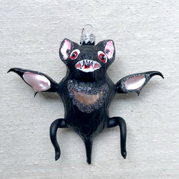 Black Bat Ornament