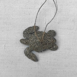 Glitter Sea Turtle Ornament