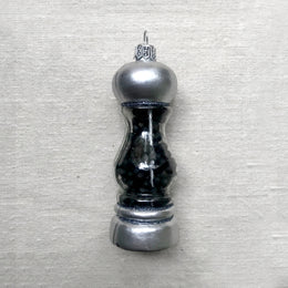 Silver Pepper Pot Ornament