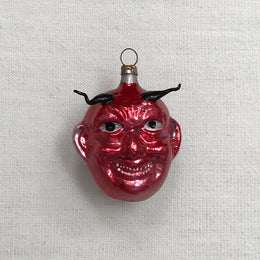 Nostalgic Krampus Head Ornament