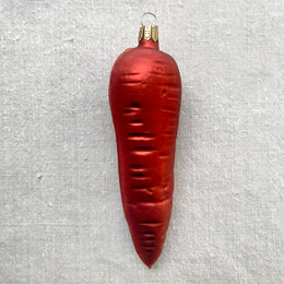 Large Carrot Ornament