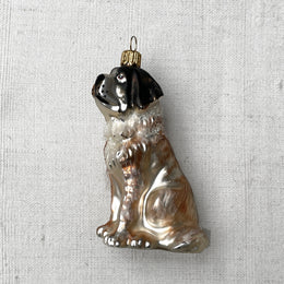 St. Bernard Dog Ornament