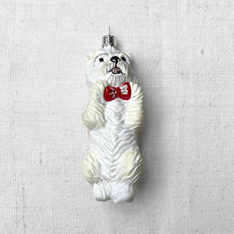 Westie Terrier Dog Ornament