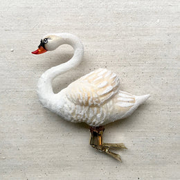 Swan Clip-On Ornament