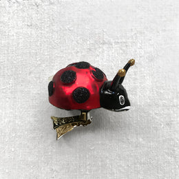 Ladybug Clip-On Ornament