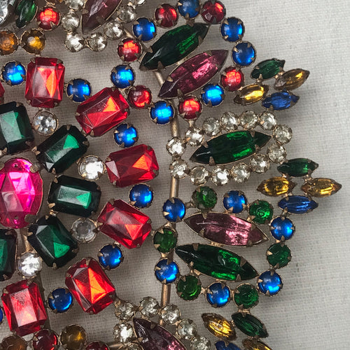 Multicolored Jeweled Tree Topper