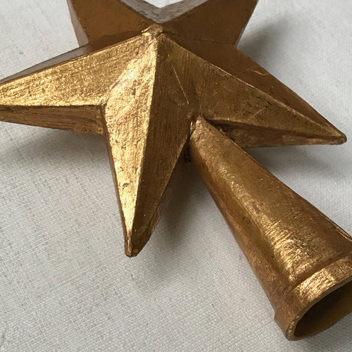 Small 5 Point Star Tree Topper