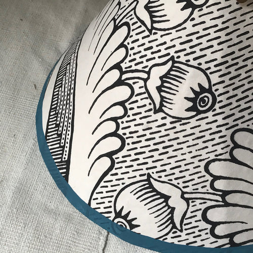 Antoinette Poisson Lamp Shade in Grenades (No. 2B)