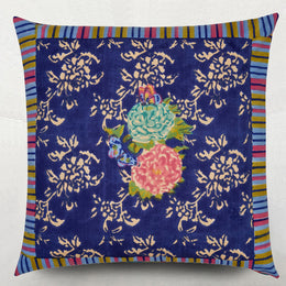 Lisa Corti Kandem Queen Blue Euro Sham