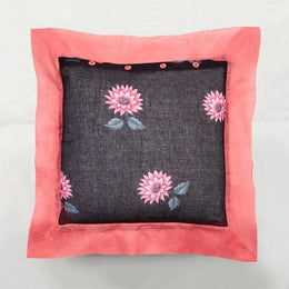 Black Lotus Pillow