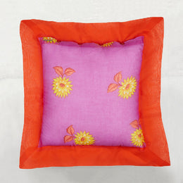 Lilac Lotus Pillow