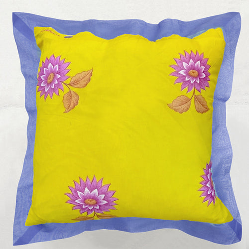 Lotus Yellow Pillow