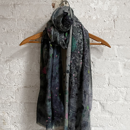 Martyn Thompson Linen Dropcloth Scarf in Bronze