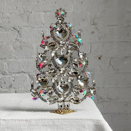 Nostalgic Jeweled Tree with Hearts