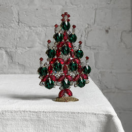 Nostalgic Jeweled Tree with Candles