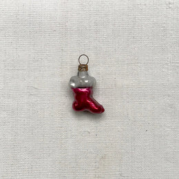 Nostalgic Mini Red Stocking Ornament