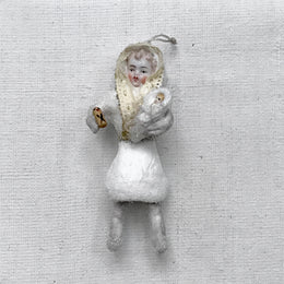 Nostalgic Cotton Baby with Baby Ornament