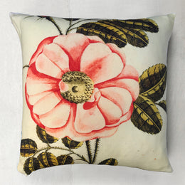 "John Derian for Goldfinch ""La Rosa"" Wool Pillow"