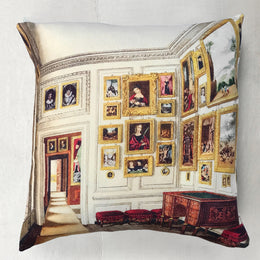 "John Derian for Goldfinch ""Queen's Quarters"" Wool Pillow"