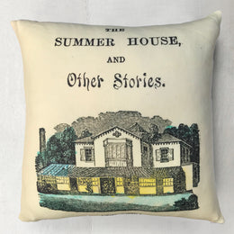 "John Derian for Goldfinch ""Summer House"" Wool Pillow"