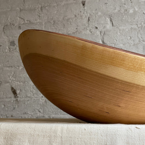 "Petermans 18"" Cherry Oval Bowl"