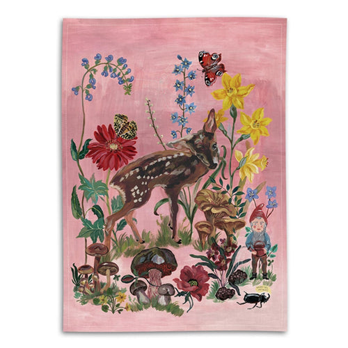 Bambi Tea Towel