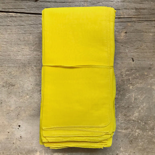 Set of 6 Lisa Corti Napkins in Yellow