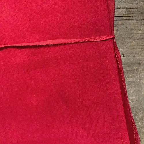 Set of 6 Lisa Corti Napkins in Red