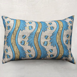 Medium Grenades Pillow (No. 2A) with Poly Velvet Backing