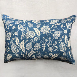 Medium Indienne Pillow (No. 30B) with Linen Backing