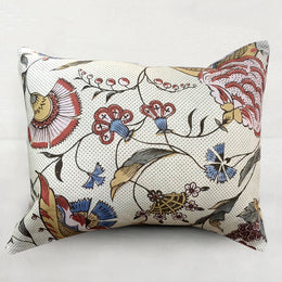 Small Jaipur Pillow (No. 57A) with Poly Velvet Backing