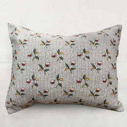 Small Baies Pillow (No. 56A) with with Linen Backing