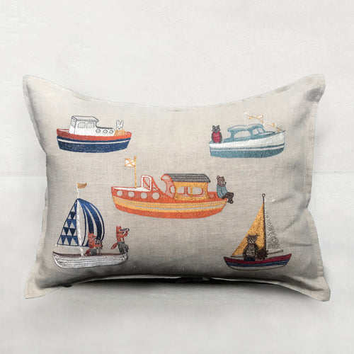 Boats Pillow