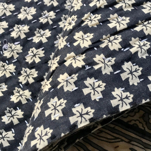 Newly Printed Kantha Queen Bedcover