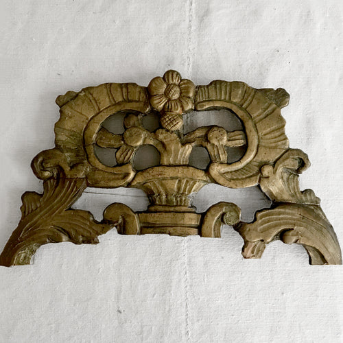 18th Century Gilded Italian Architectural Element