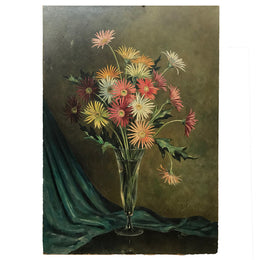 Early 20th Century Dutch Floral Painting