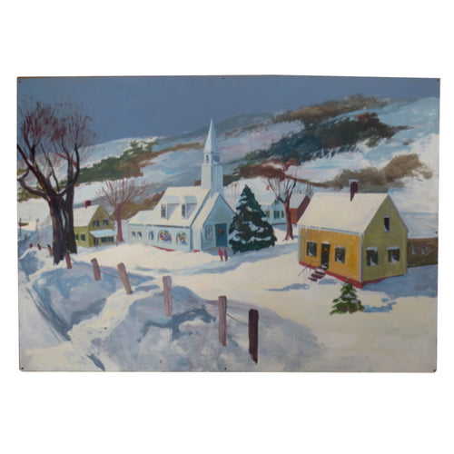 Holiday Mural No. 42 by Nancy Whorf